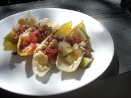 Stuffed Endive Leaves